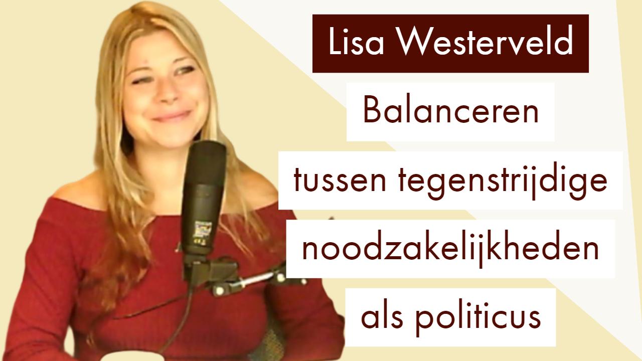 Lisa Westerveld Tweede Kamerlid GroenLinks Vocast