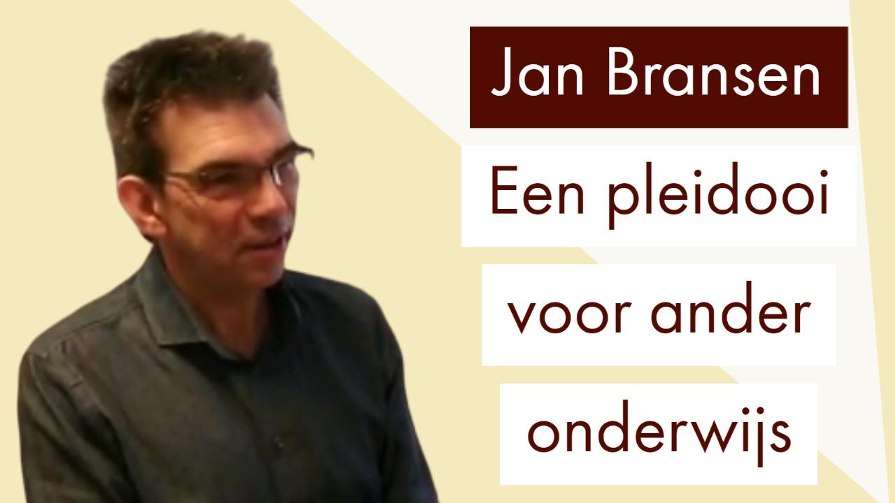 Jan Bransen, onderwijs, vocast