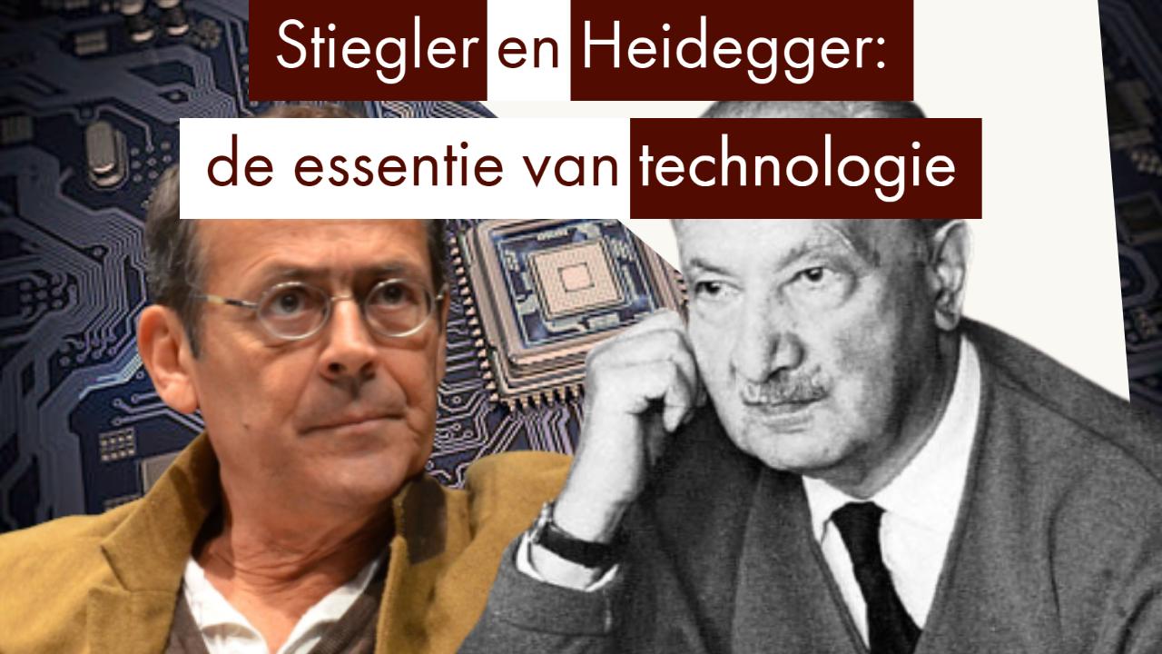 Heidegger, Pieter Lemmens, Technologie, Bernard Stiegler